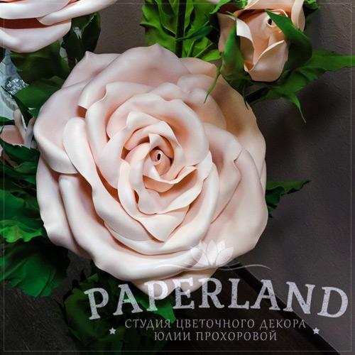 Видеоурок создания традиционной розы